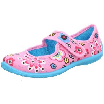 Fischer Schuhe Hausschuh rosa