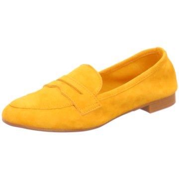 Marco Tozzi Komfort Slipper gelb