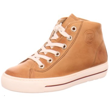 Paul Green Sneaker High braun