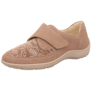 Waldläufer Komfort Slipper beige