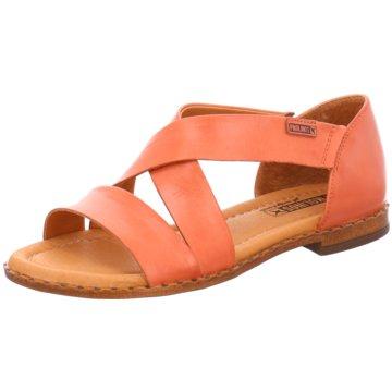Pikolinos Komfort Sandale orange