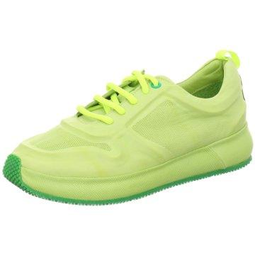 Post XChange Sportlicher Schnürschuh grün