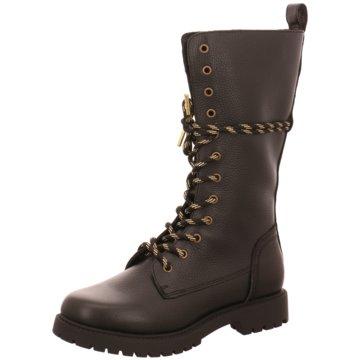 Monshoe Top Trends Stiefel schwarz
