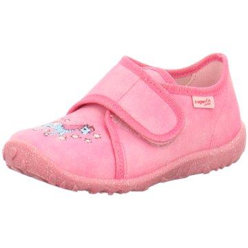 Superfit HausschuhHausschuh Textil \ S pink