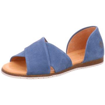 Apple of Eden Sandale blau