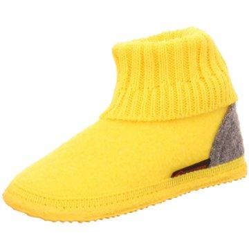 Giesswein Kleinkinder Mädchen gelb