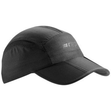 CEP Mützen RUNNING CAP, LAVA, UNISEX, ONE - W0MCC schwarz