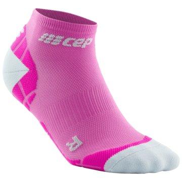 CEP Hohe Socken ULTRALIGHT LOW-CUT SOCKS - WP4AY pink