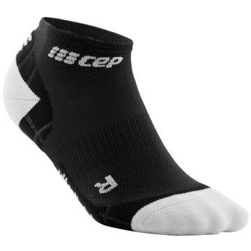 CEP Hohe Socken ULTRALIGHT LOW-CUT SOCKS - WP5AY schwarz