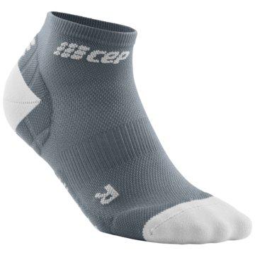 CEP Hohe Socken ULTRALIGHT LOW-CUT SOCKS - WP5AY grau