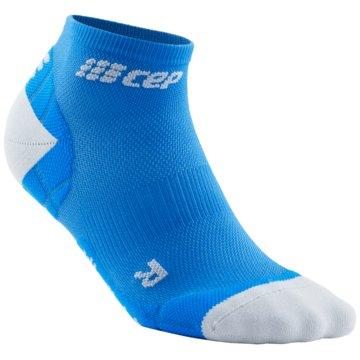 CEP Hohe Socken ULTRALIGHT LOW-CUT SOCKS - WP5AY blau