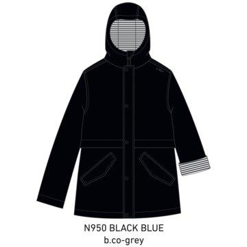 CMP RegenjackenKID RAIN FIX HOOD JACKET - 30X9734 blau