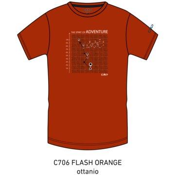 CMP T-ShirtsKID T-SHIRT - 38T6744 orange