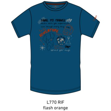 CMP T-ShirtsKID T-SHIRT - 38T6744 blau