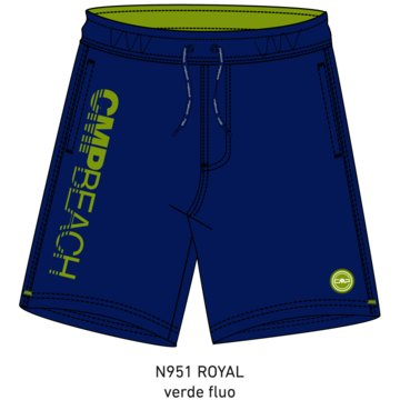 CMP BoardshortsMAN MEDIUM SHORTS - 39R9217 blau