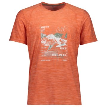 CMP T-ShirtsMAN T-SHIRT - 39T6547 orange