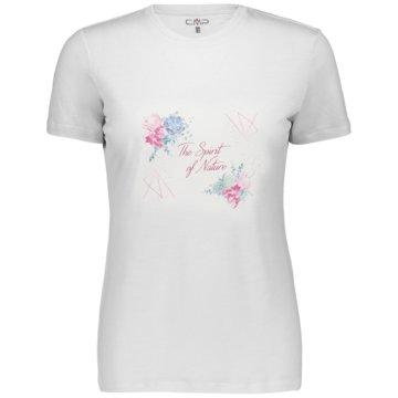 CMP T-ShirtsWOMAN T-SHIRT - 39T8336 weiß