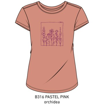 CMP LangarmshirtWOMAN T-SHIRT - 39T8336 pink