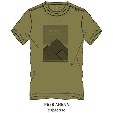 CMP T-ShirtsMAN T-SHIRT - 39T8347 beige
