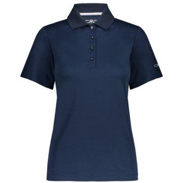 CMP PoloshirtsWOMAN POLO - 3T60976 blau