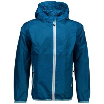 CMP RegenjackenKID G JACKET RAIN FIX HOOD - 3X53255 blau