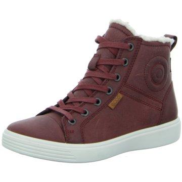 Ecco Sneaker HighS 7 Teens rot