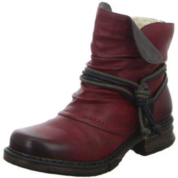 Rieker Biker BootStiefel rot