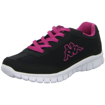 Kappa Sneaker Low schwarz