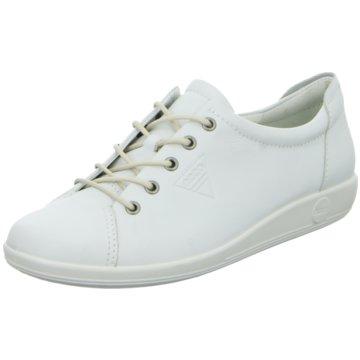 Ecco Sneaker LowSoft 2.0 weiß