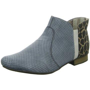 Rieker Ankle Boot blau