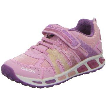Geox Sportlicher Schnürschuh pink
