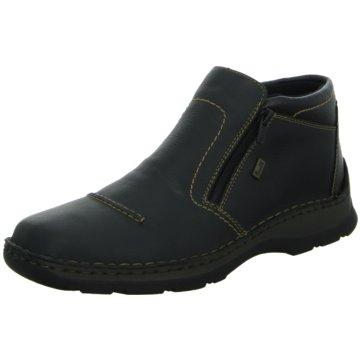 Rieker Komfort Stiefel0537200 schwarz