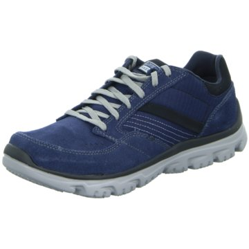 Rieker Sportlicher SchnürschuhL-Fit-Comfort Life blau