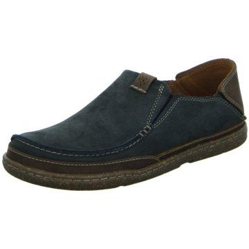 Clarks Klassischer Slipper blau