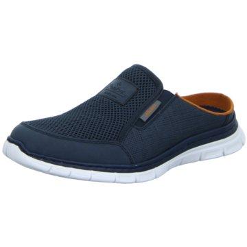 Rieker Komfort SchuhPantolette blau