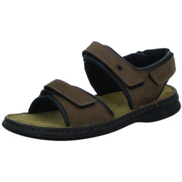 Josef Seibel Komfort Sandale braun