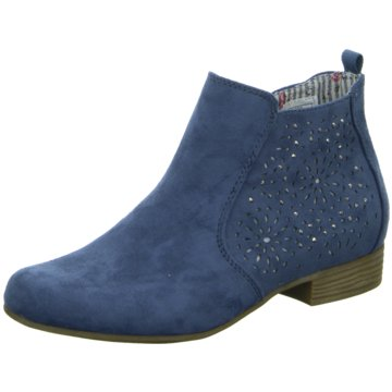 Pep Step Ankle Boot blau