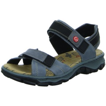 Rieker Komfort Sandale6885112 blau