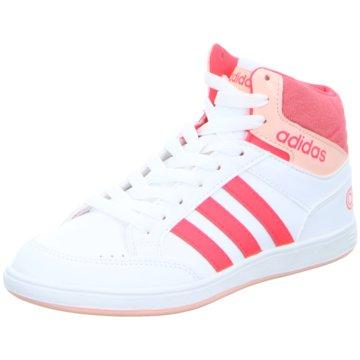 adidas Sneaker HighHOOPS MID K weiß
