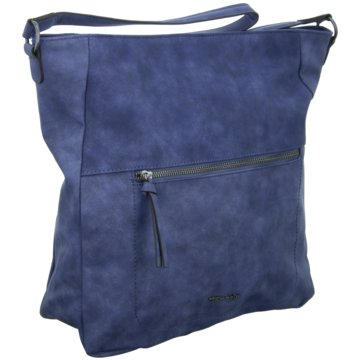 Rieker Taschen DamenTwiggy Hobo Bag blau