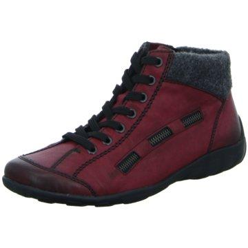 Rieker Komfort StiefeletteSneaker rot