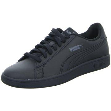 Puma Sneaker LowSmash v2 Leather schwarz
