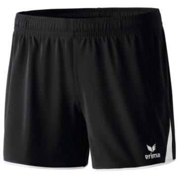 Erima kurze Sporthosen schwarz
