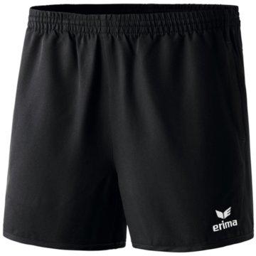 Erima Fußballshorts schwarz