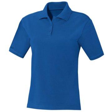 Jako Poloshirts blau