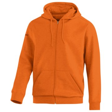 Jako Sweatjacken orange