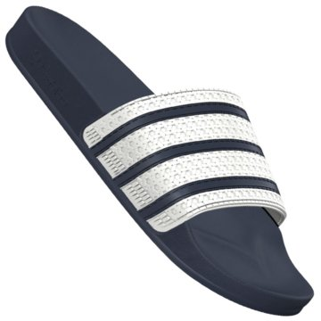 adidas BadelatscheAdilette Badeschuhe weiss blau blau