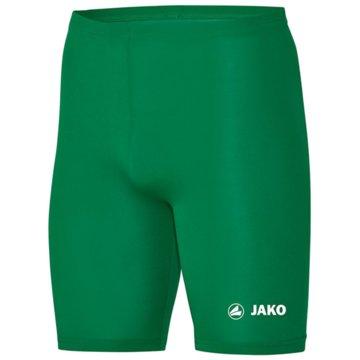 Jako kurze Sporthosen grün