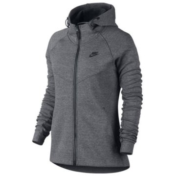 Nike Fleecejacken grau