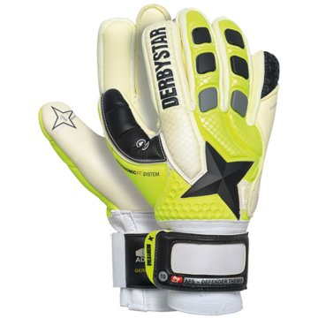 Derby Star Torwarthandschuhe gelb